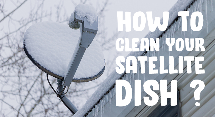 Snow Off Satellite Dish