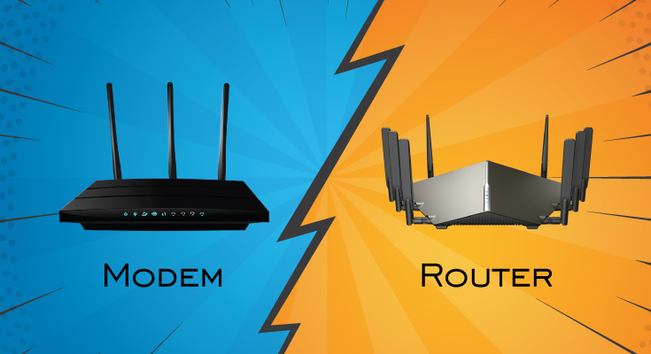 Difference Between Modem & Router