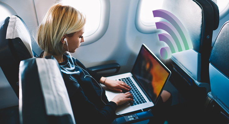 best wifi internet in airlines