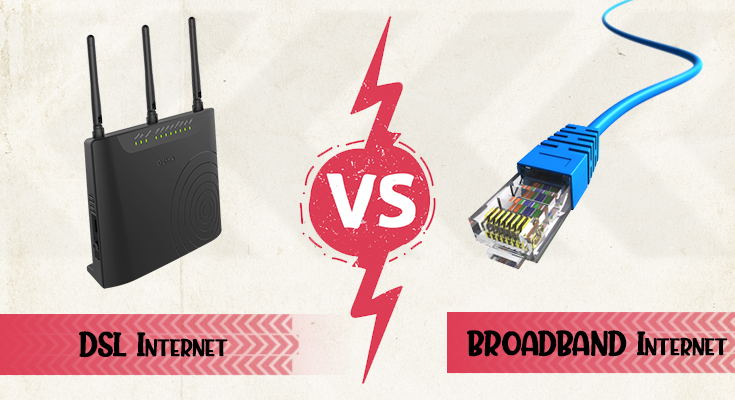 dsl and broadband difference