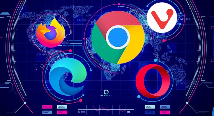 top 5 fastest web browsers