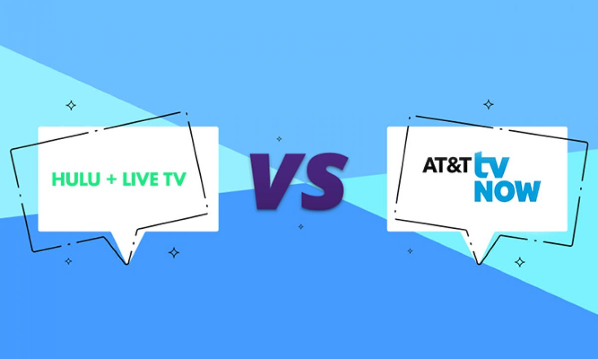 Compare Hulu Live And At T Now Difference Hulu Tv Vs At T Now