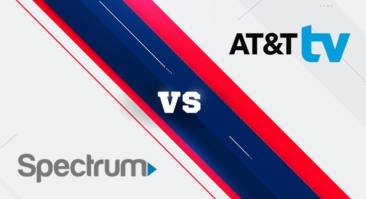 spectrum vs at&t tv