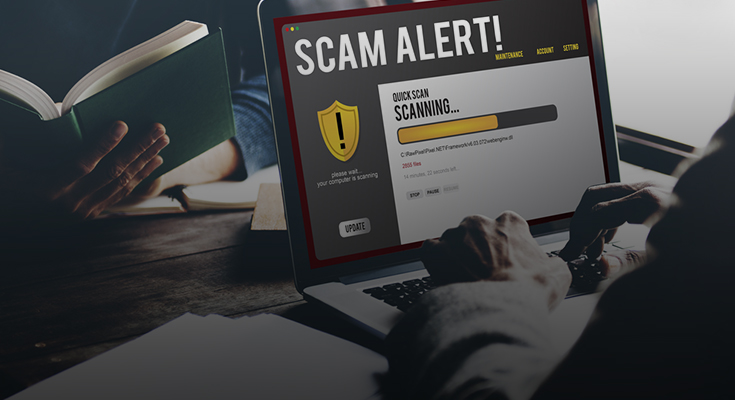 list of online scams