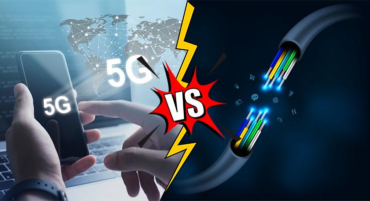 5g vs fiber internet