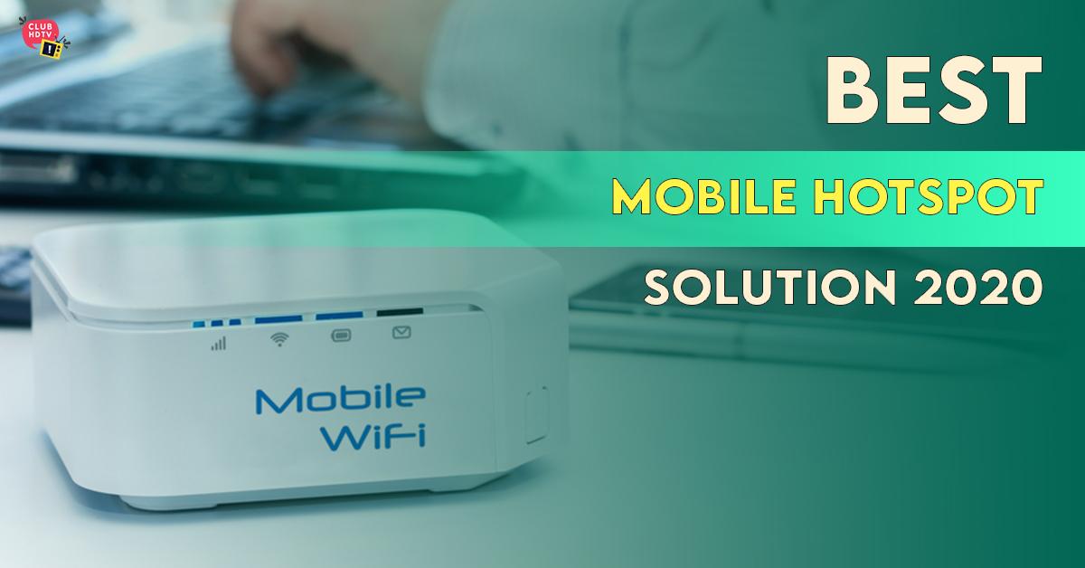 best mobile internet hotspots