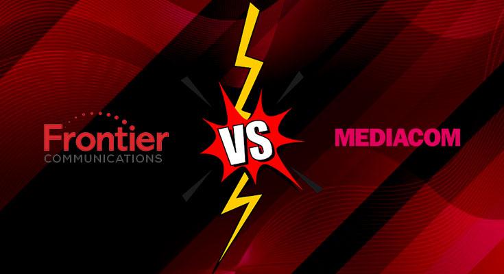 frontier vs mediacom internet