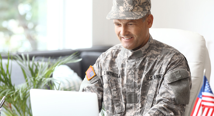 best internet for military